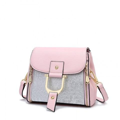 Women's PU Leather Handbag Shoulder Bag.