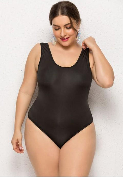 Plus Size Beach Bliss One Piece Swimsuit.