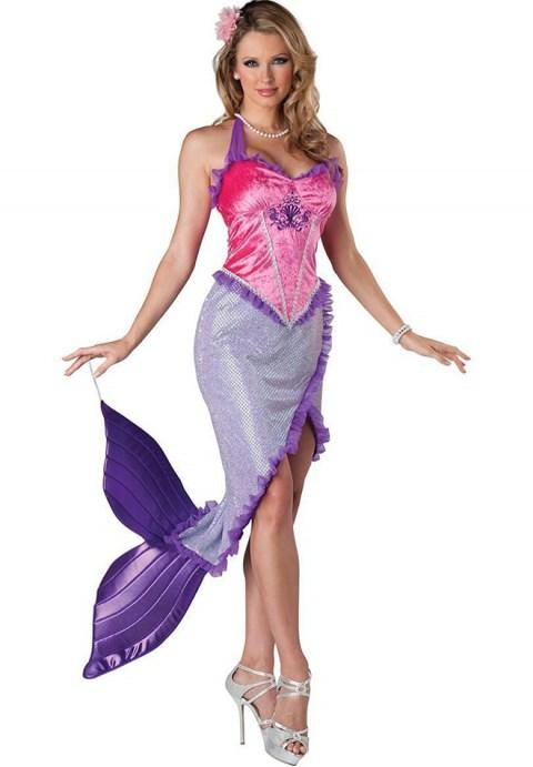 Deluxe Mermaid Costume.