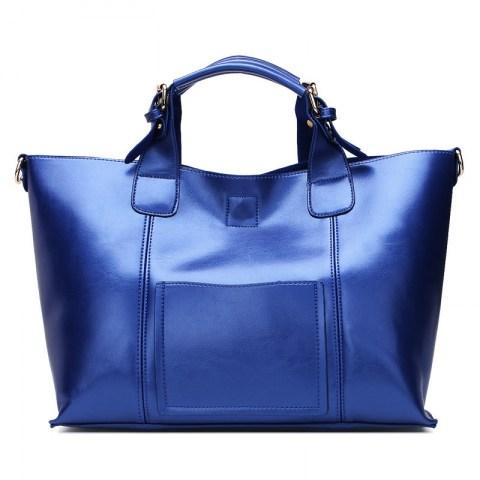 Women's Genuine Leather Bag Tote Bag.