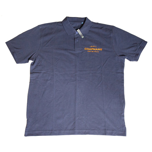 Blue Polo Shirt 100% Cotton - delivery included