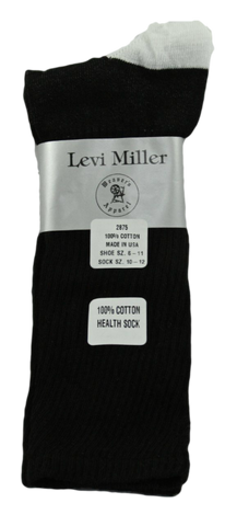 Levi Miller Cotton Crew Health Sock