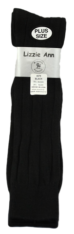 Lizzie Ann Women's Acrylic Knee-High, Extra Wide Rib