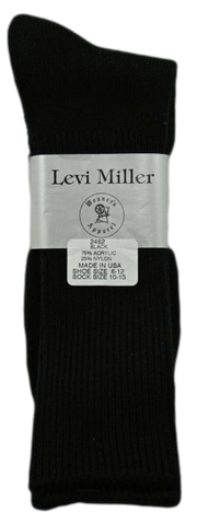 Levi Miller Acrylic Dress Sock
