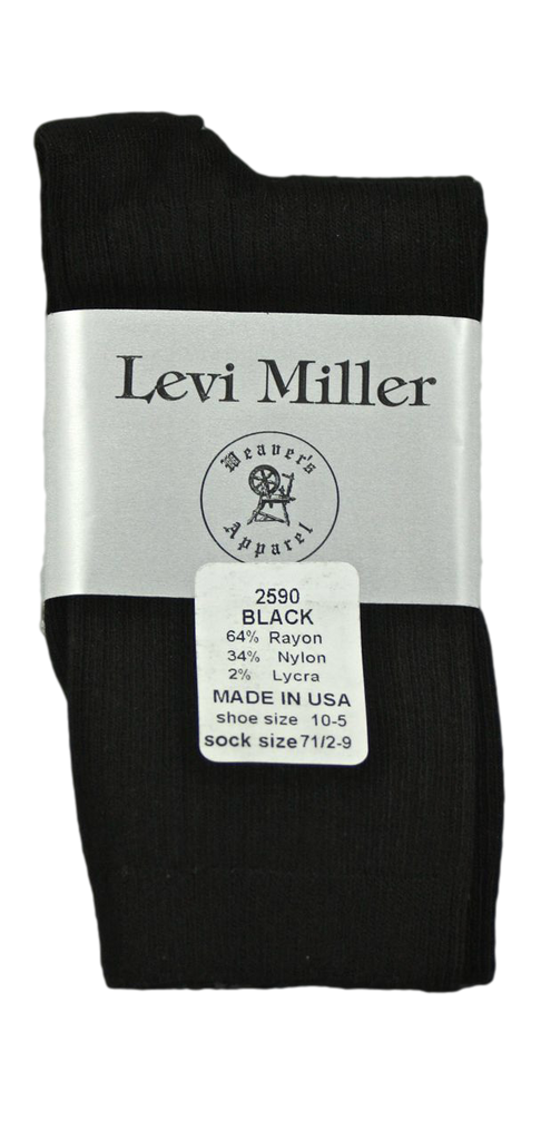 Levi Miller Rayon Crew Dress Sock