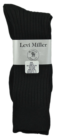 Levi Miller Pima Cotton Dress Sock, Mid-Calf Length