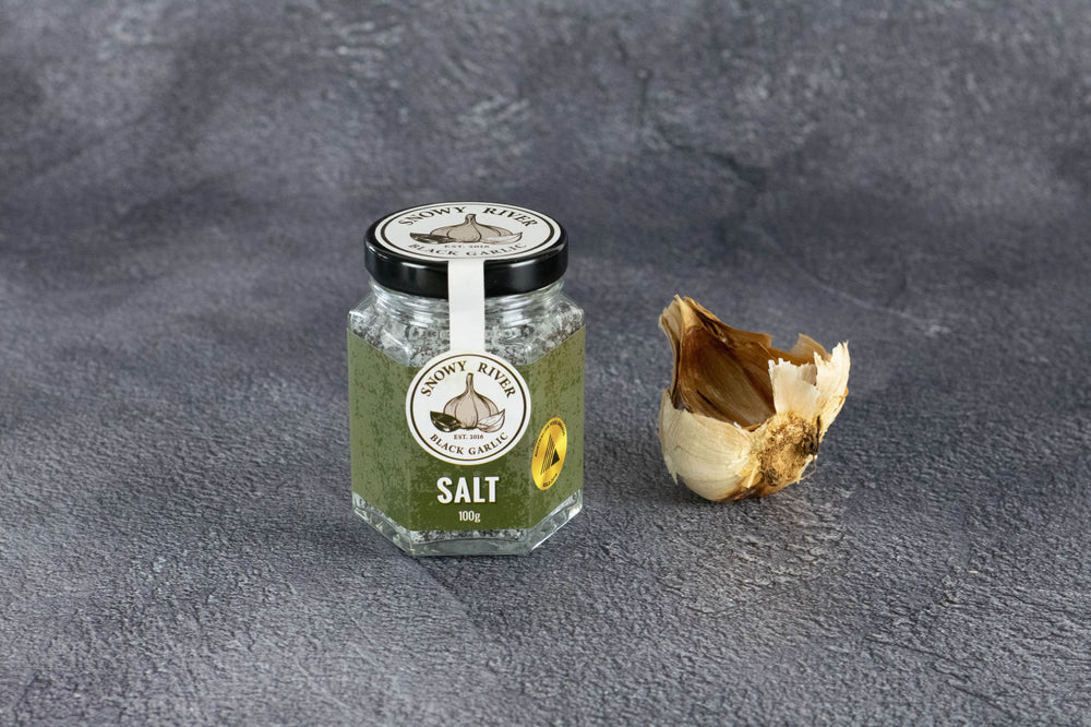 100g Australian Black Garlic Salt