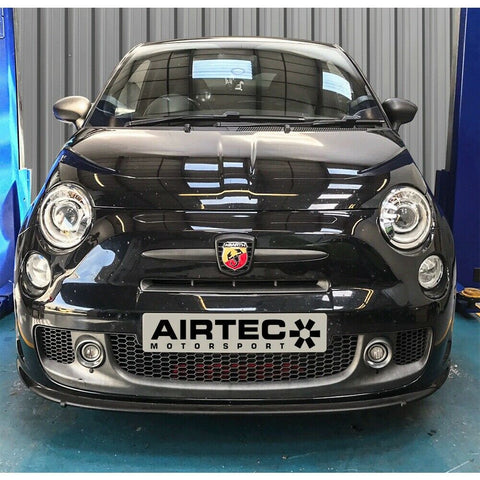 Airtec Motorsport Front Mount Intercooler Upgrade for Fiat 595 Abarth with Automatic Gearbox - R-Ace Motorsport