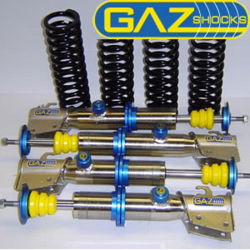 GAZ GOLD ADJUSTABLE RACE COILOVER SUSPENSION KITS TO FIT CLIO 197 - R-Ace Motorsport