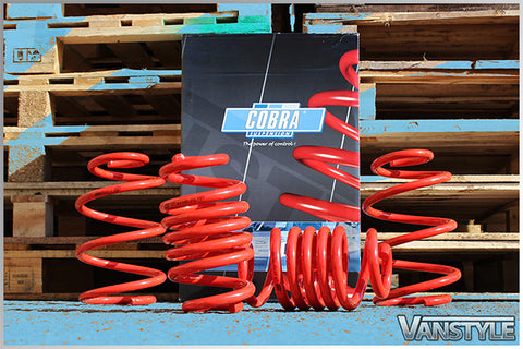 COBRA SPORTS LOWERING SPRING KIT 40MM OR 55MM to fit VW transporter T5 - R-Ace Motorsport