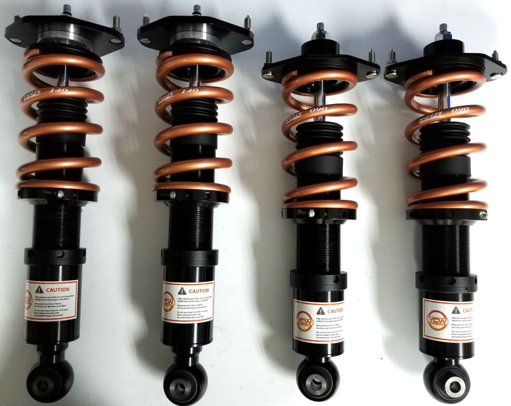 YCW suspension Aeris series coilover kits to fit PORSCHE BOXSTER (1996-2004)