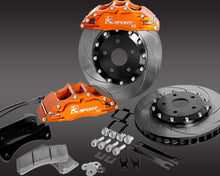 Load image into Gallery viewer, K-Sport front brake kit - 421mm (super 8 pot with fully floating discs)