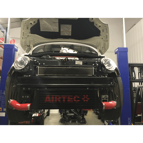 Airtec Motorsport Front Mount Intercooler Upgrade for Fiat 500 Abarth with Automatic Gearbox - R-Ace Motorsport