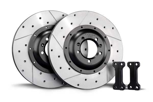 TAROX Brake Kit – Ford Focus Mk2 RS – Rear Disc Upgrade – KMFO0983 (350mm)