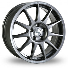 Load image into Gallery viewer, SPEEDLINE TURINI 17X7J ALLOY WHEELS (ANTHRACITE)
