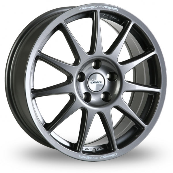 SPEEDLINE TURINI 15x6.5J ALLOY WHEELS (ANTHRACITE)