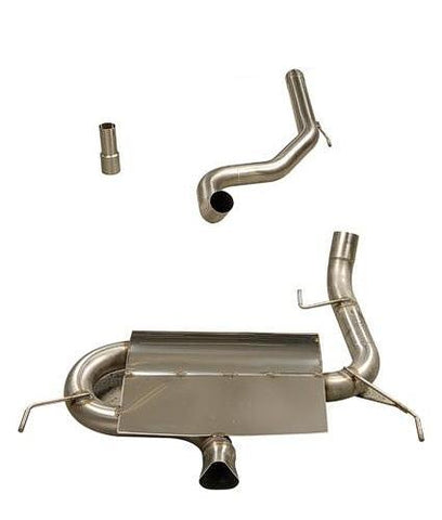 Vauxhall Corsa VXR (2006 - 2010) Piper cat back system with 1 silencer