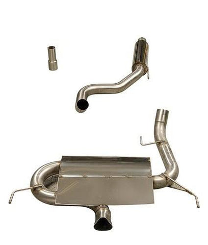Vauxhall Corsa VXR (2006 - 2010) Piper cat back system with 2 silencers