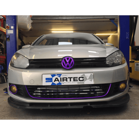 Airtec Motorsport Front Mount Intercooler Upgrade for Volkswagen Golf 2.0 TDI MK6 Common Rail Diesel Only - R-Ace Motorsport