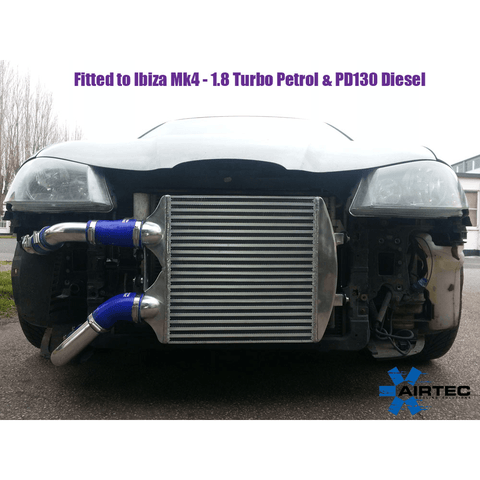 Airtec Motorsport Intercooler Upgrade for Seat Ibiza 1.9 TDI PD 130 Diesel - R-Ace Motorsport