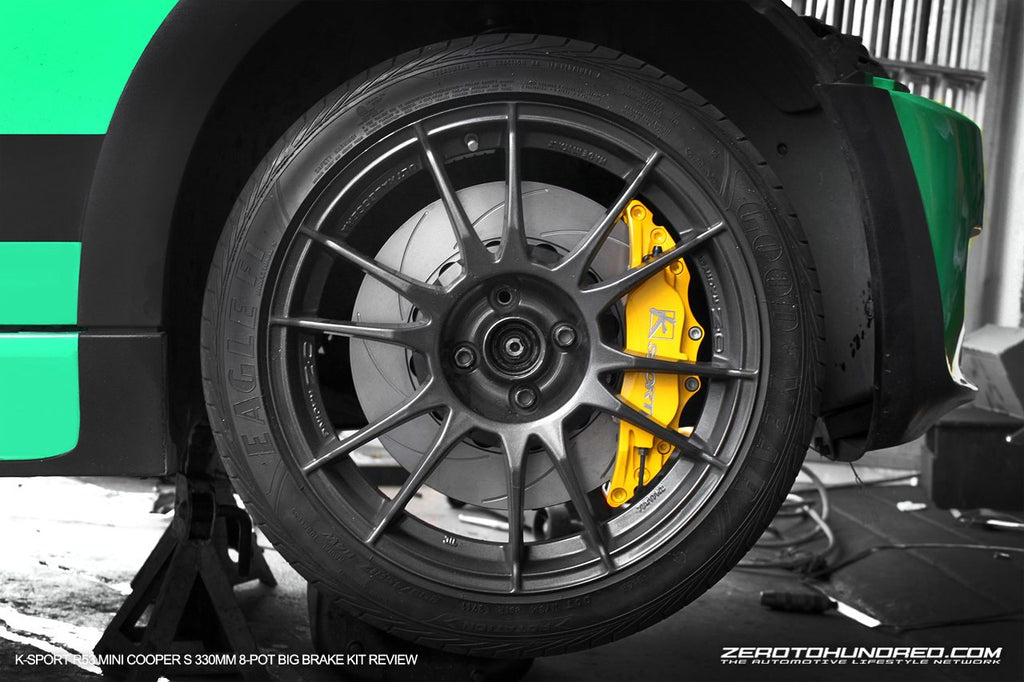 K-Sport Big Brake Kit (304mm - 6 pot brake kit)