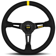 Load image into Gallery viewer, MOMO MODEL MODEL 08 STEERING WHEEL BLACK/BLACK