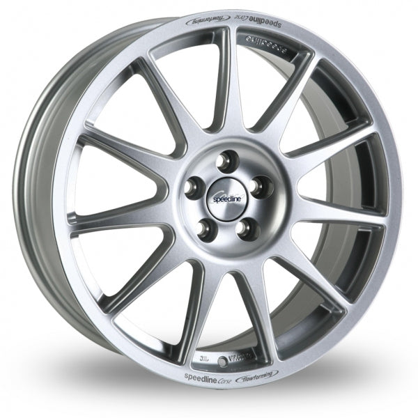 SPEEDLINE TURINI 16x7J ALLOY WHEELS (SILVER)