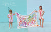 "Stephanie Corfee ""You are So Loved-Girl"" blanket with names"