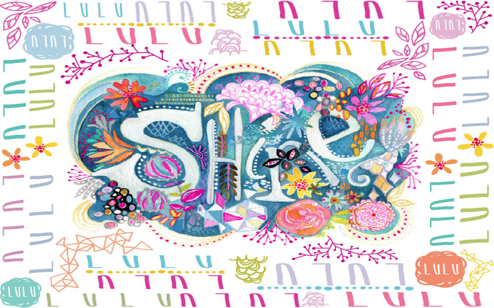 "Stephanie Corfee ""Shine"" Blanket with Names"