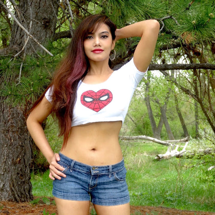 Super Hero Crop Tops