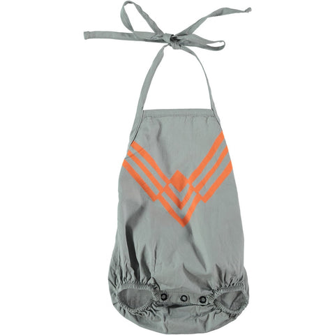Baby sunsuit Necklace by Picnik Barcelona - grey