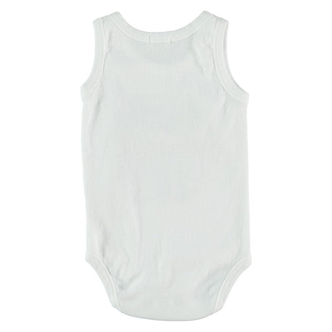 Baby body Hexagon by Picnik Barcelona - white
