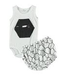 Picnik Barcelona - Baby body Hexagon & culotte