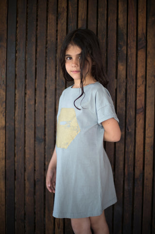 Girls dress Hexagon by Picnik Barcelona
