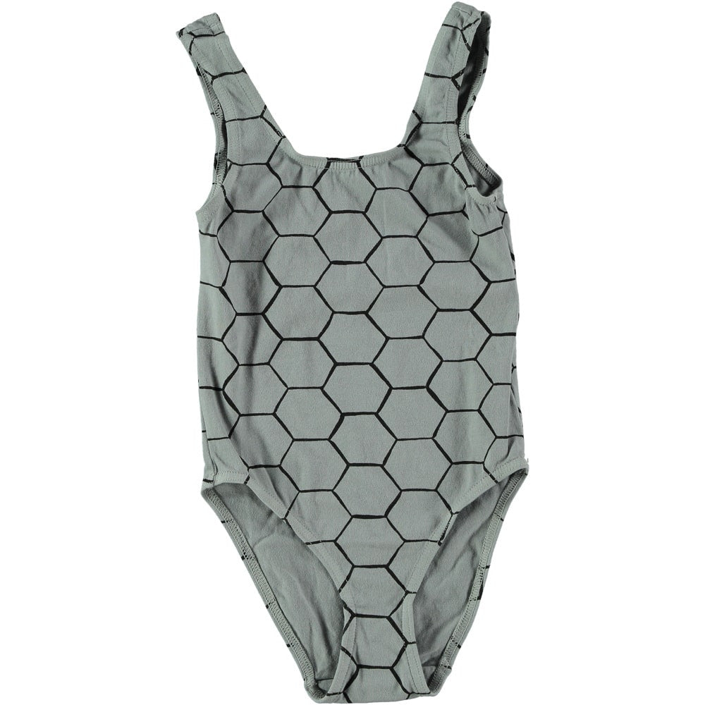 Picnik Barcelona - swimsuit Beehive - grey