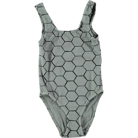 Swimsuit Beehive by Picnik Barcelona - grey