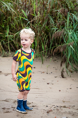 Retro bodysuit  by 4 Funky Flavours - Raggamuffin