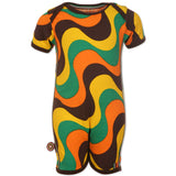 4 Funky Flavours: Retro baby bodysuit Raggamuffin