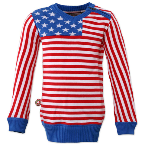 Knit sweater by 4 Funky Flavours - Born In The USA