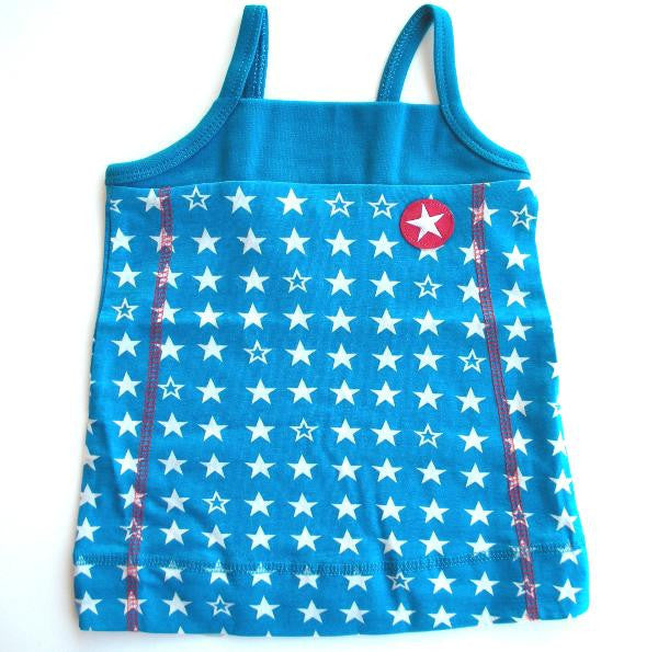 KIK-KID: Star baby dress in blue