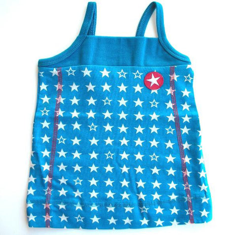 Star dress by KIK-KID, blue