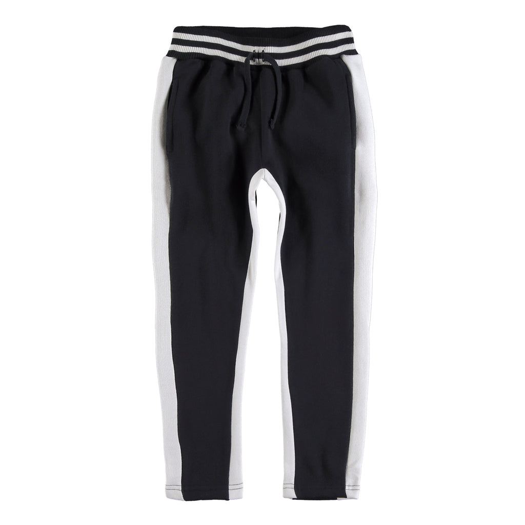 Bicolor Pants Black White by Yporqué