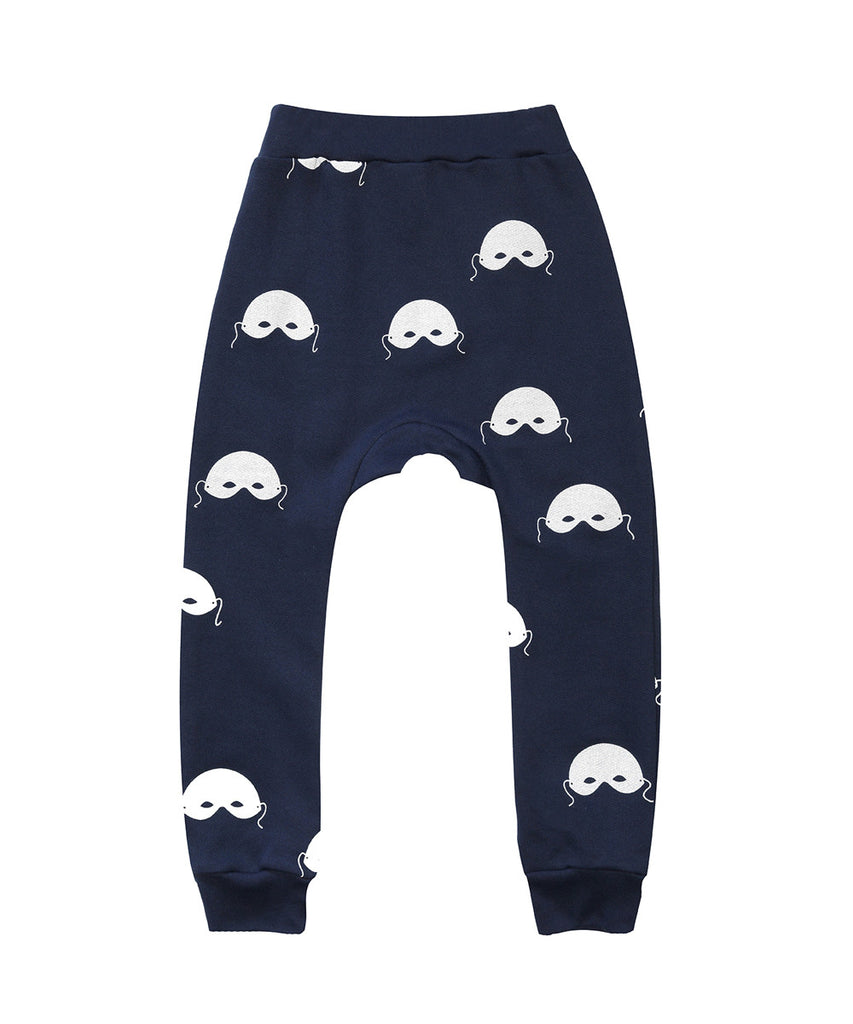 Beau LOves - Davenport pants Masks - Midnight Blue