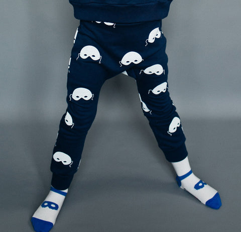 Davenport pants Masks by Beau LOves - Midnight Blue