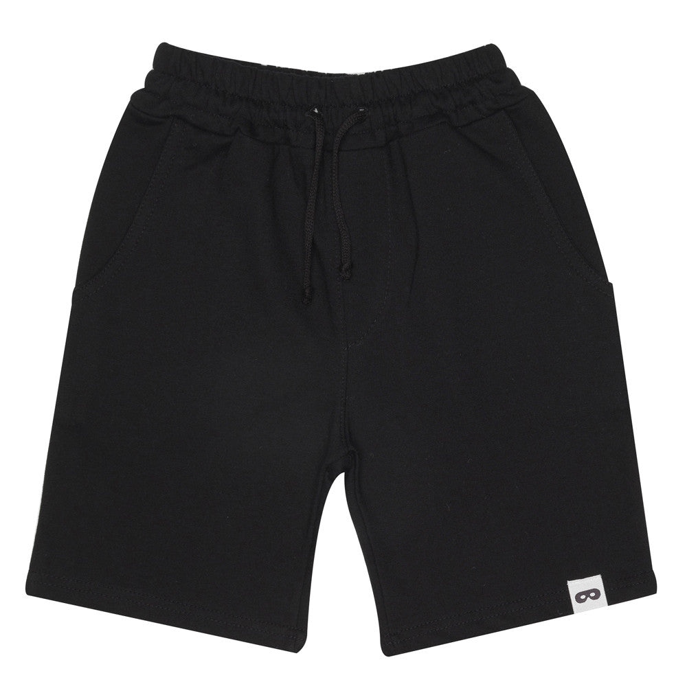 Beau LOves - Drawstring long shorts - inky black