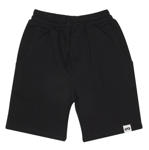 Long shorts by Beau LOves - inky black