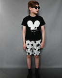 Beau LOves - Fin t-shirt Mouse X - inky black - lifestyle