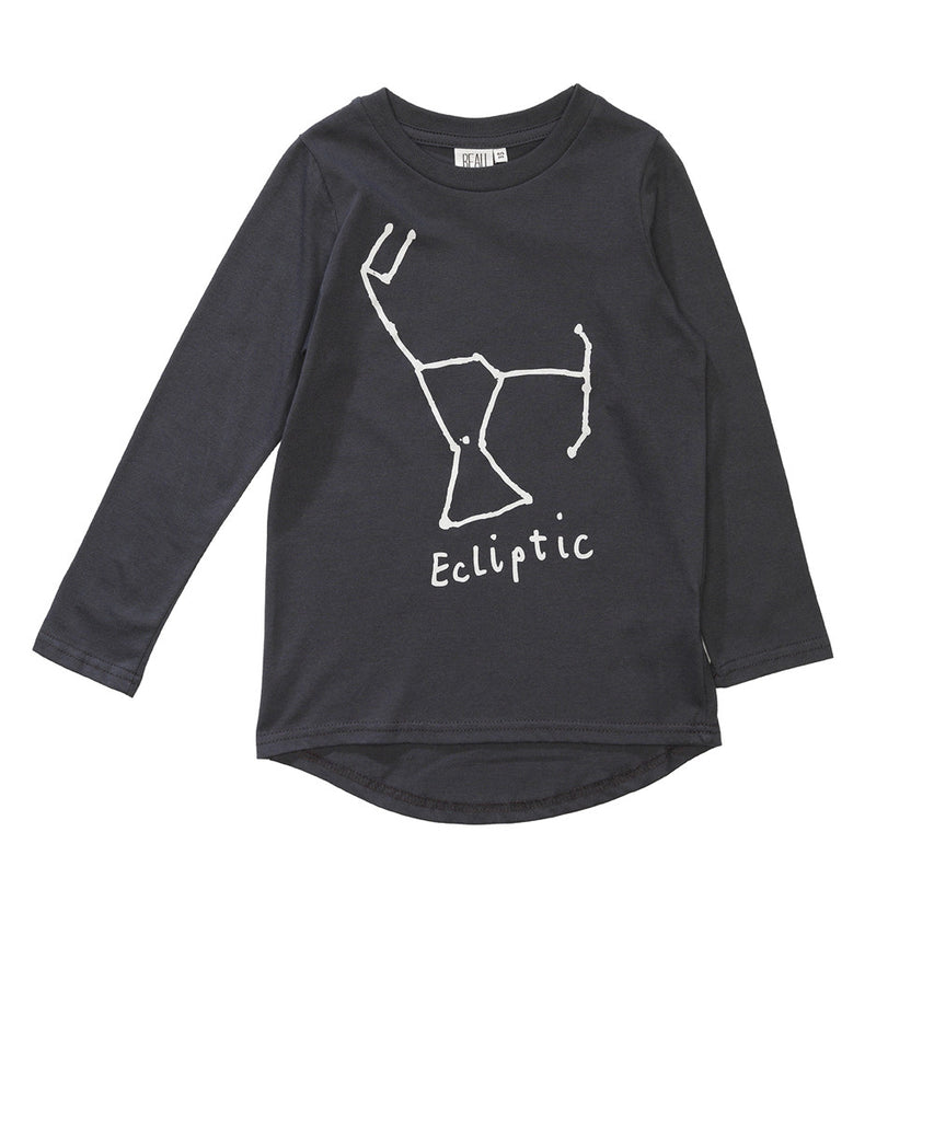 Beau LOves - Fin tee Ecliptic - Charcoal