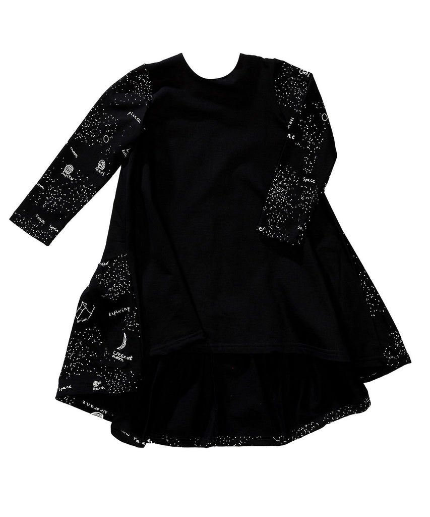 Beau LOves - Galaxy Luna dress - jet black