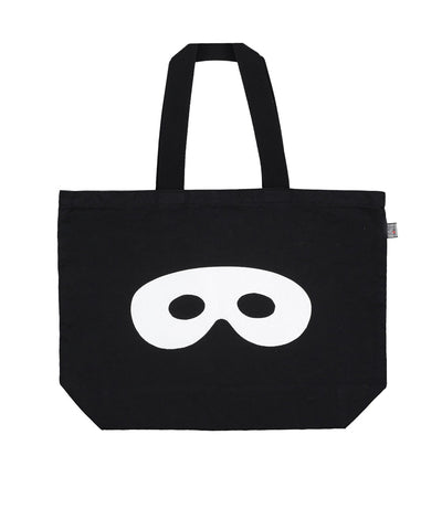 Large canvas bag Hero Mask by Beau LOves - black